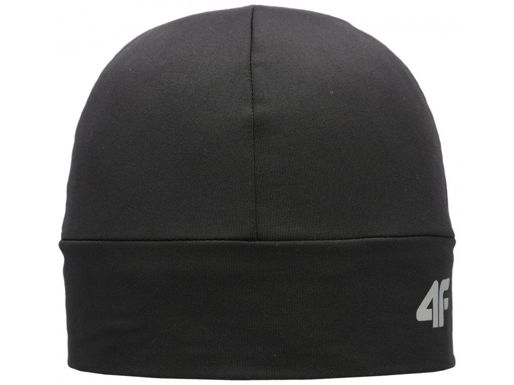 Čepice 4F CAU002 Deep black černá