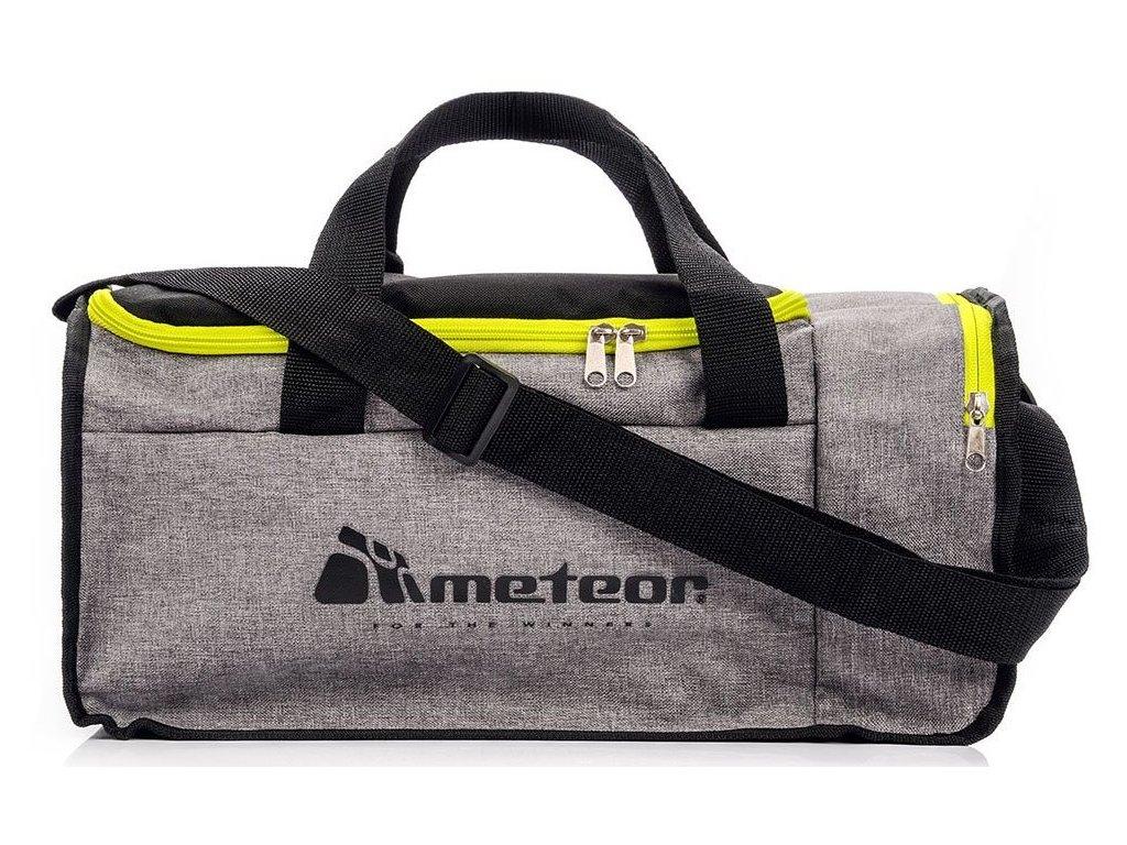 Sportovní taška Meteor 74540 ziel.neon/szary mel.