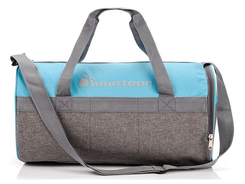 Sportovní taška Meteor 74553 niebiski/szary mel. modrá