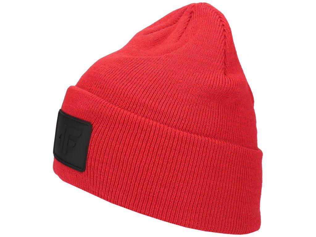 Pánská čepice 4F CAM064 Red červená
