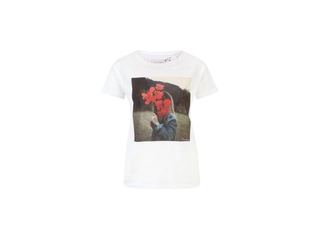Dámské tričko Mustang 1004785 2020 bílá