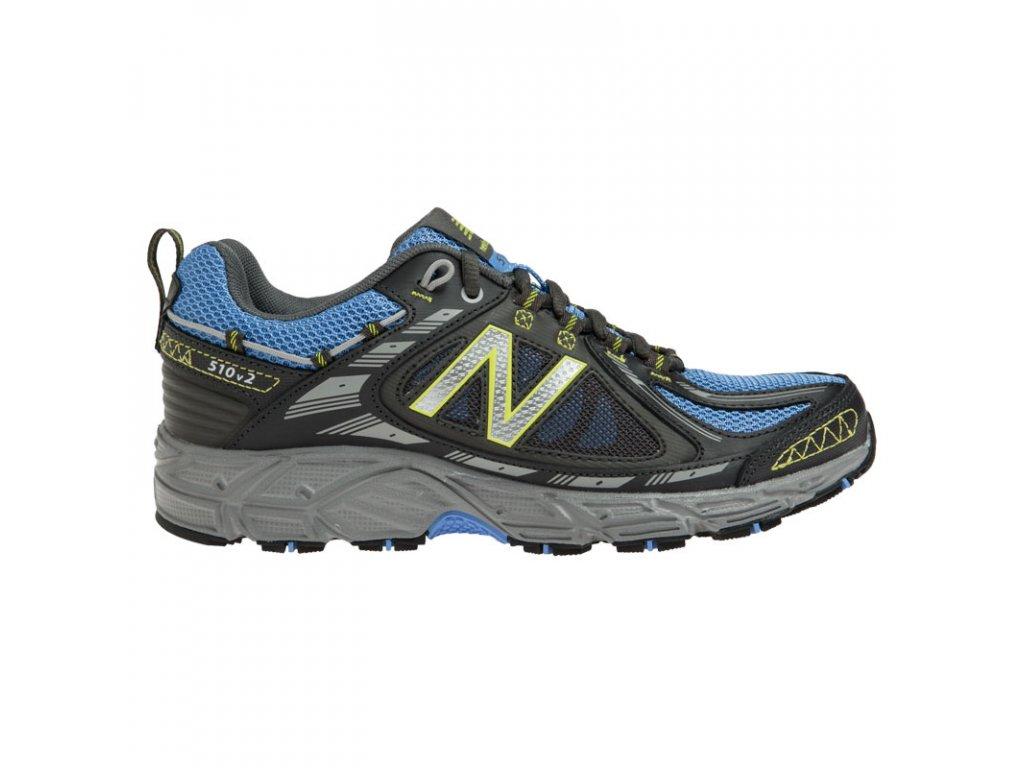 Dámské trailové běžecké boty New Balance WT510 BL2 modrá černá