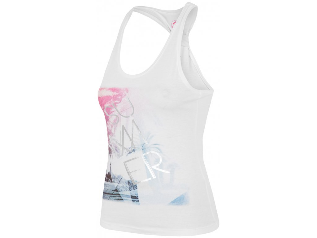 Dámské tričko 4F TSD019 White Bílá