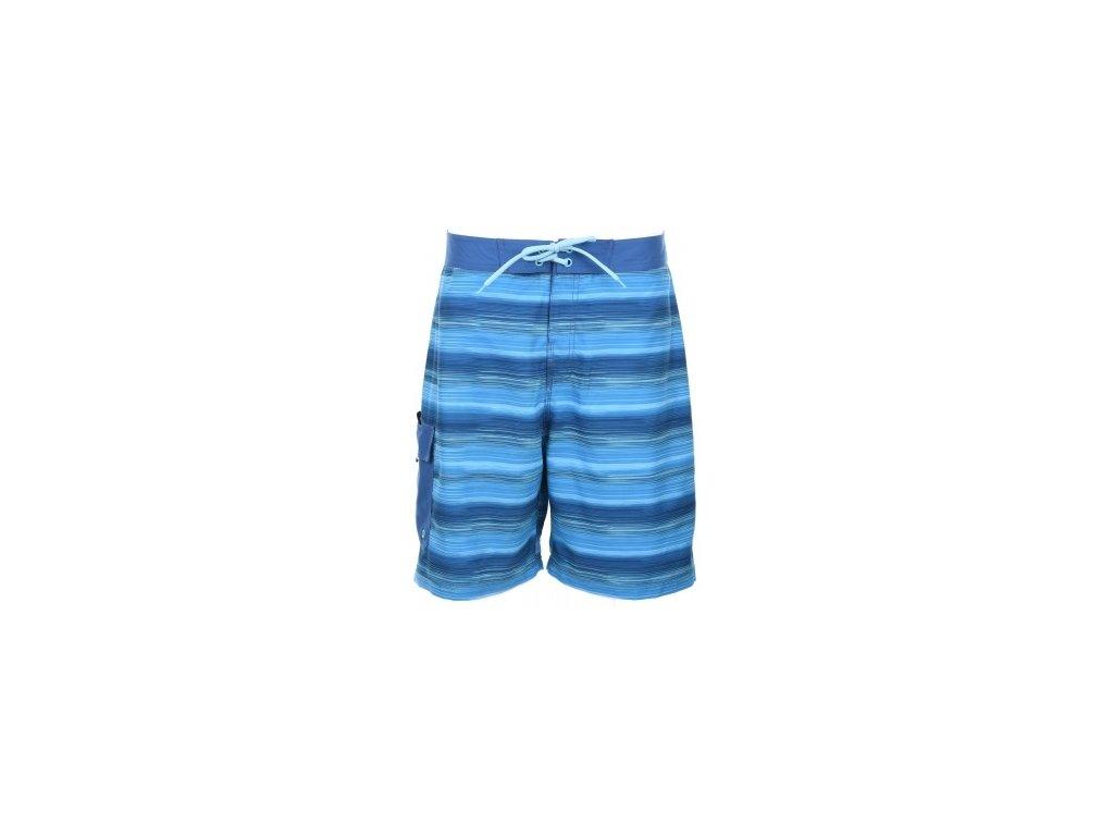 Pánské plavky Aquawave MARSI Blue stripe Modrá