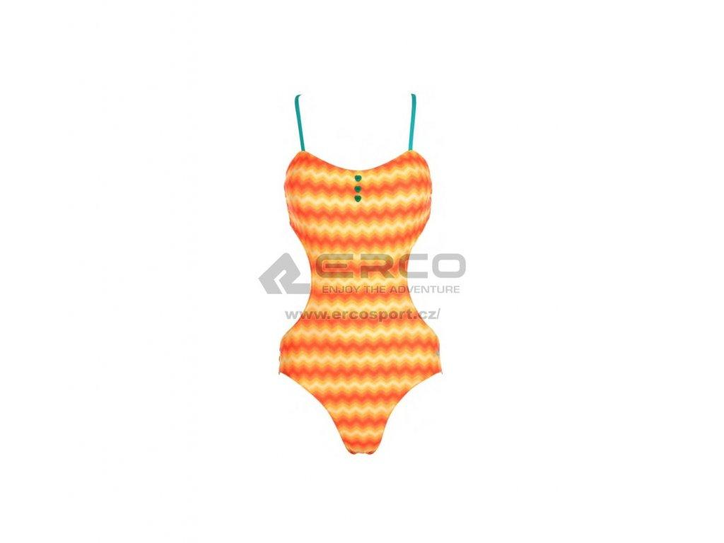 Dámské plavky Aquawave RUBIA WMNS Orange oranžová