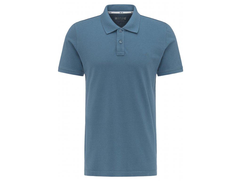 Pánské tričko Mustang 1007838 5189 modrá