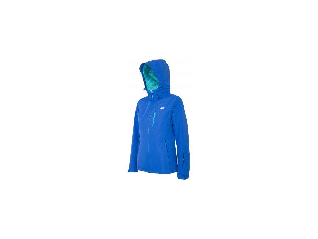 Dámská zimní bunda 4F KUDN002 Cobalt modrá