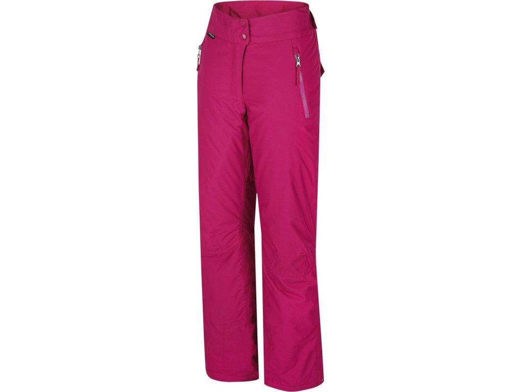 Dámské lyžařské kalhoty Hannah Josie Boysenberry růžová