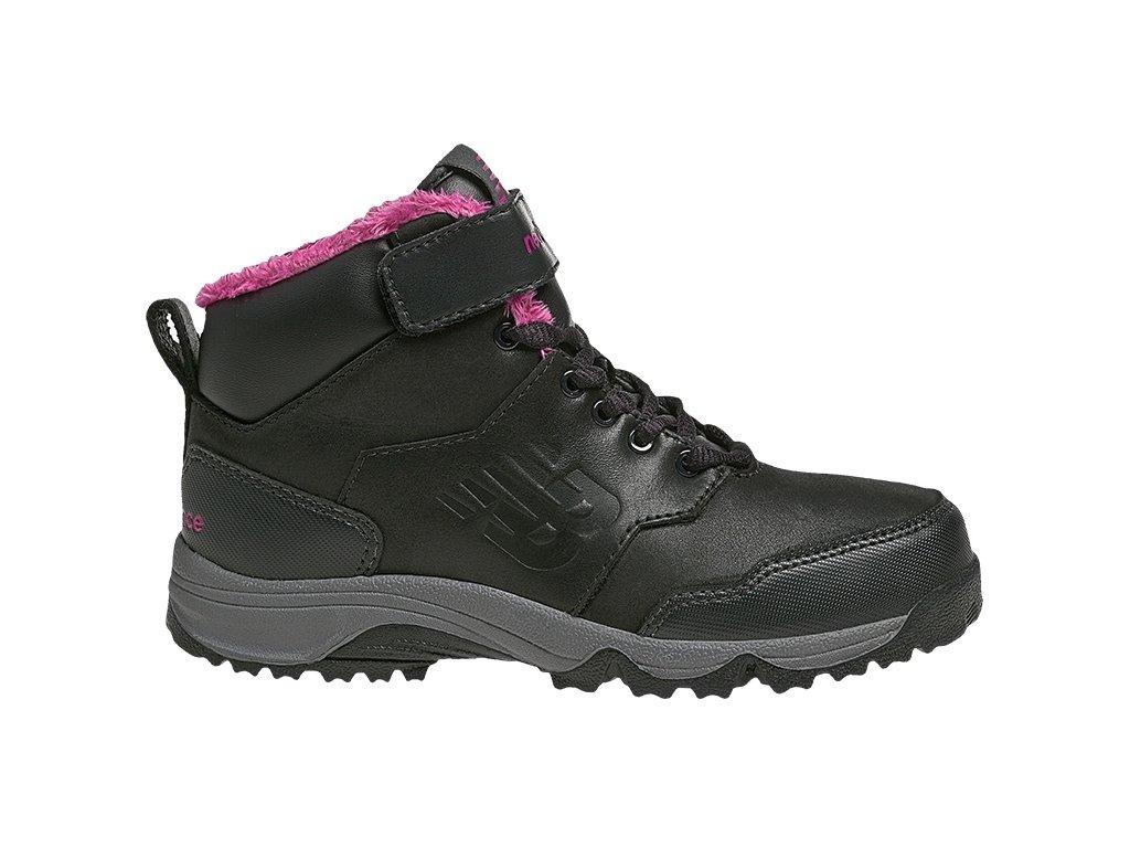 Dětské zimní boty New Balance KV754 BPY černá