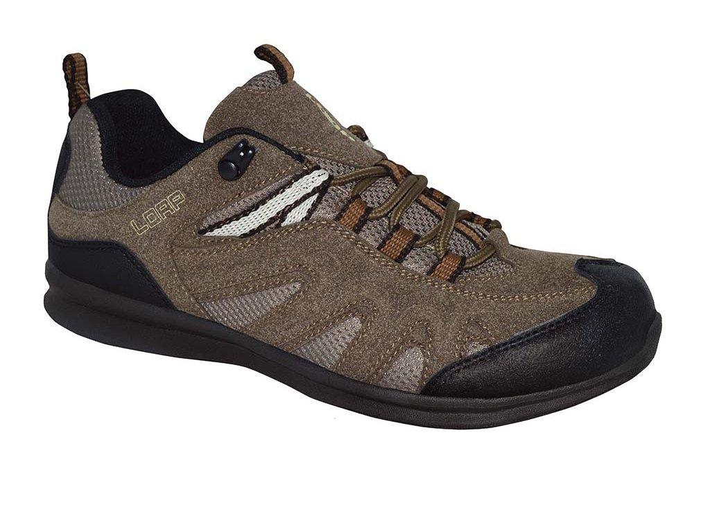 26858 2 loap nisa w damske outdoorove boty hneda hsl1691r10t