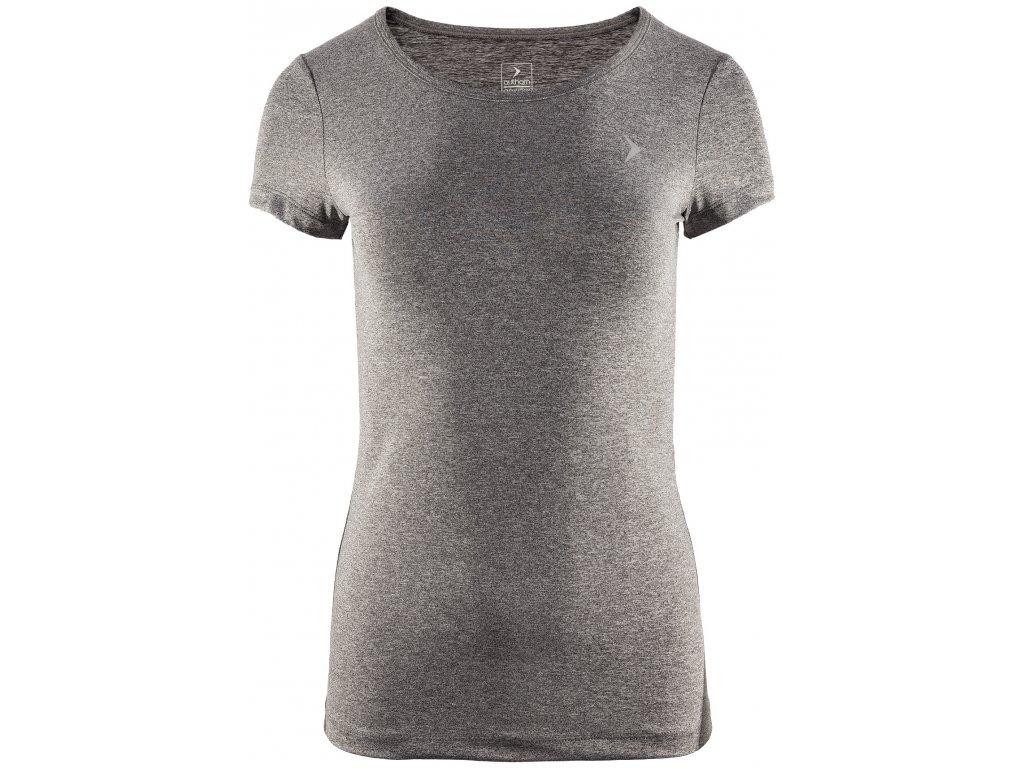 Dámské funkční tričko Outhorn TSDF600 D gray mel. šedá
