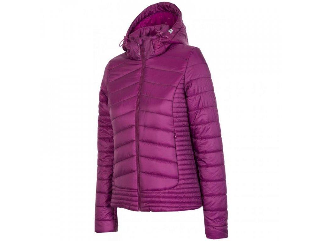 Dámská zimní bunda 4F KUD004 Violet purple