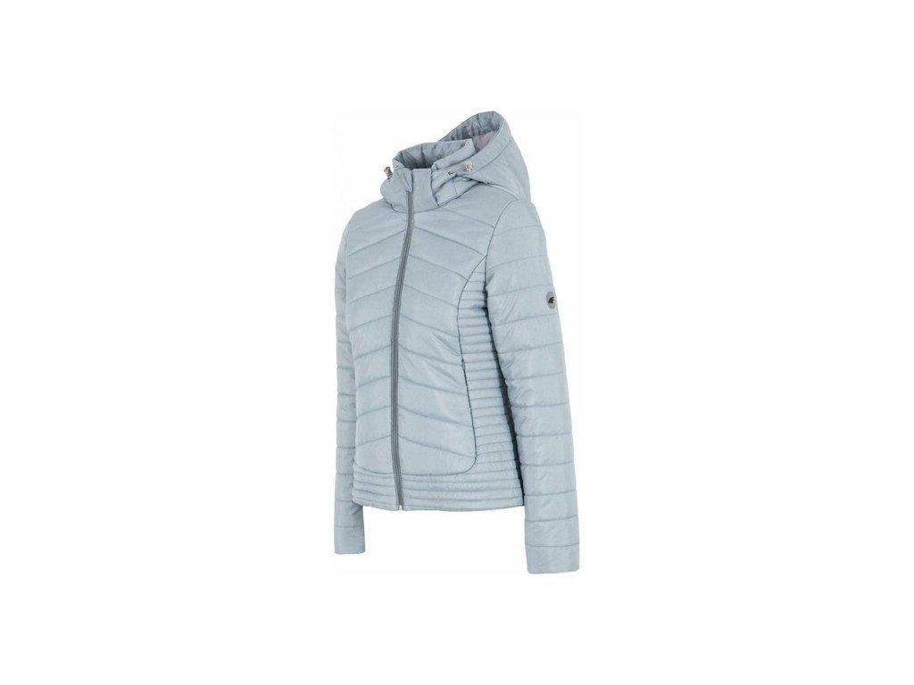 Dámská zimní bunda 4F KUD004 L.gray mel
