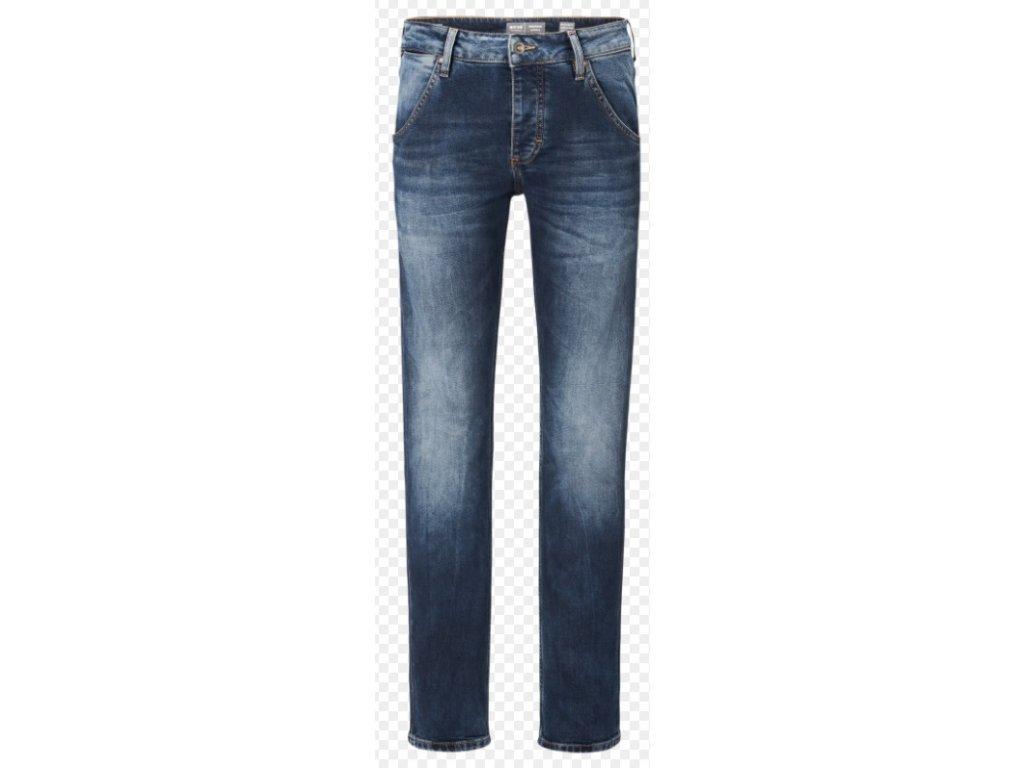 Pánské jeans Mustang 1005783 Michigan Tapered 883 modrá