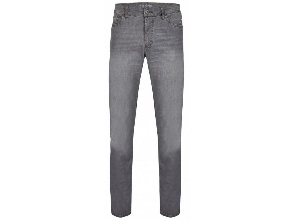 Pánské jeans Hattric 688525 Hunter 08 šedá