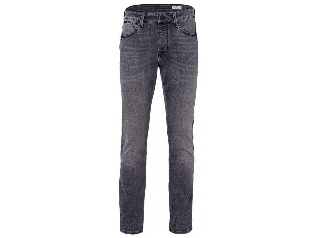 Pánské jeans Cross E195 Dylan 076 šedá