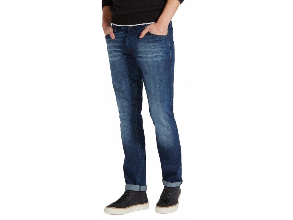 Pánské jeans Wrangler Larston blaze 282T modrá
