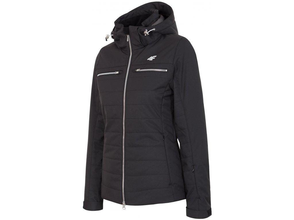 Dámská lyžařská bunda 4F KUDN151 Deep black 20S černá