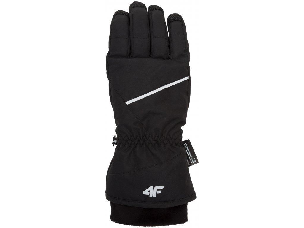 Dámské zimní rukavice 4F RED350 Deep black 20M černá