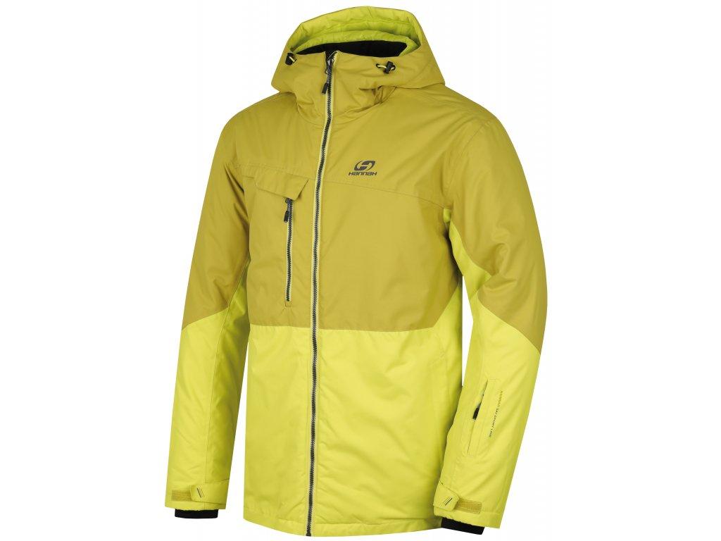 Pánská bunda Hannah SANFORD Sulp spring/citronelle žlutá