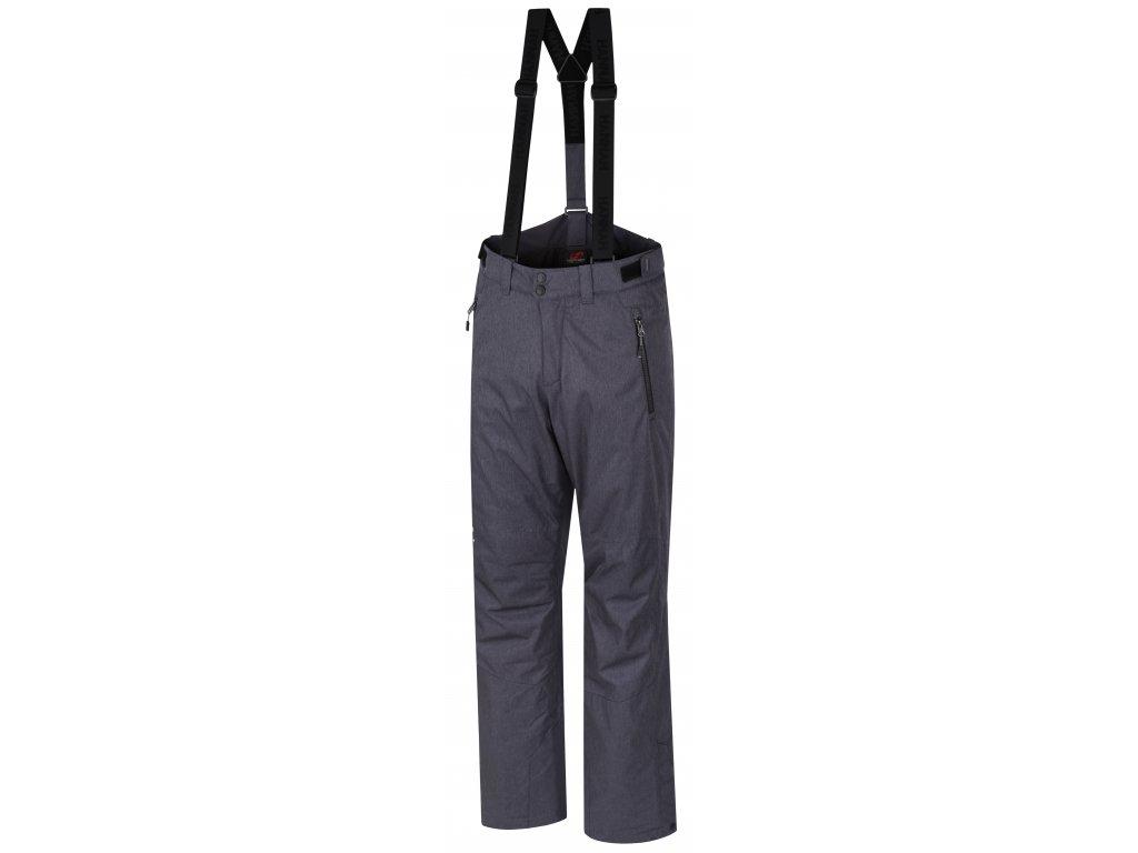 Pánské lyžařské kalhoty Hannah JAGO Magnet mel šedá