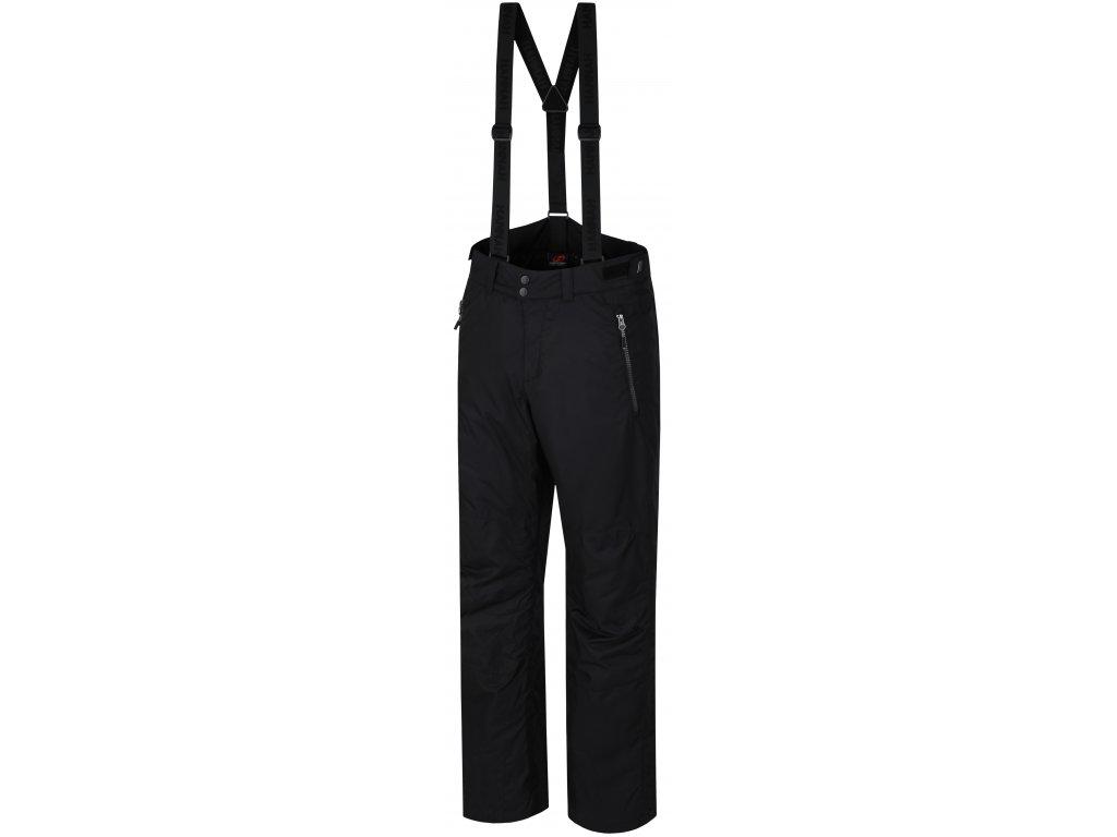 Pánské lyžařské kalhoty Hannah JAGO Anthracite černá
