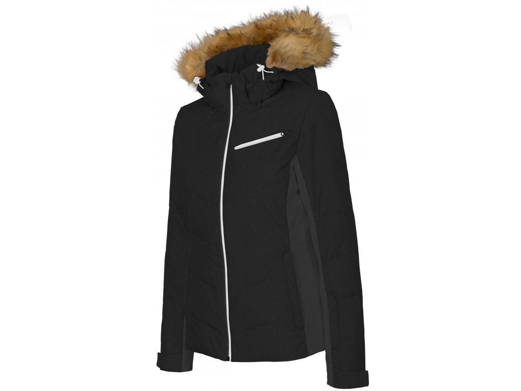 Dámská lyžařská bunda 4F KUDN270 Deep black 20S černá