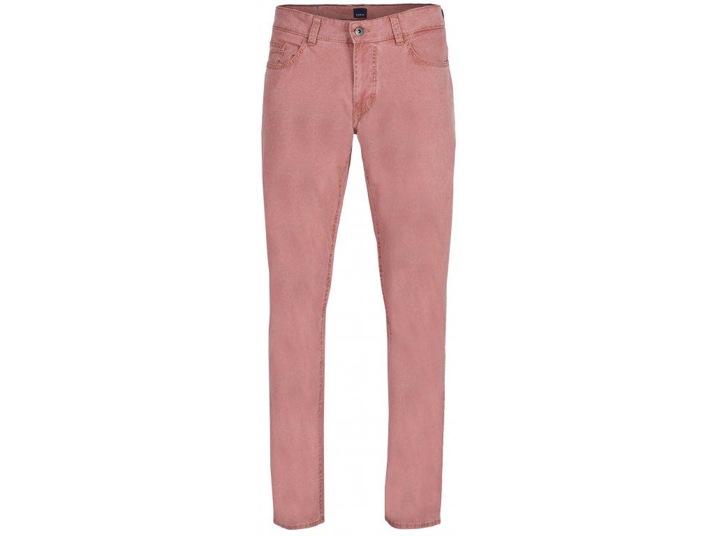 Pánské kalhoty Hattric 688535 50 růžová