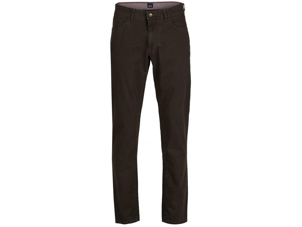 Pánské jeans Hattric 688615 25 hnědá