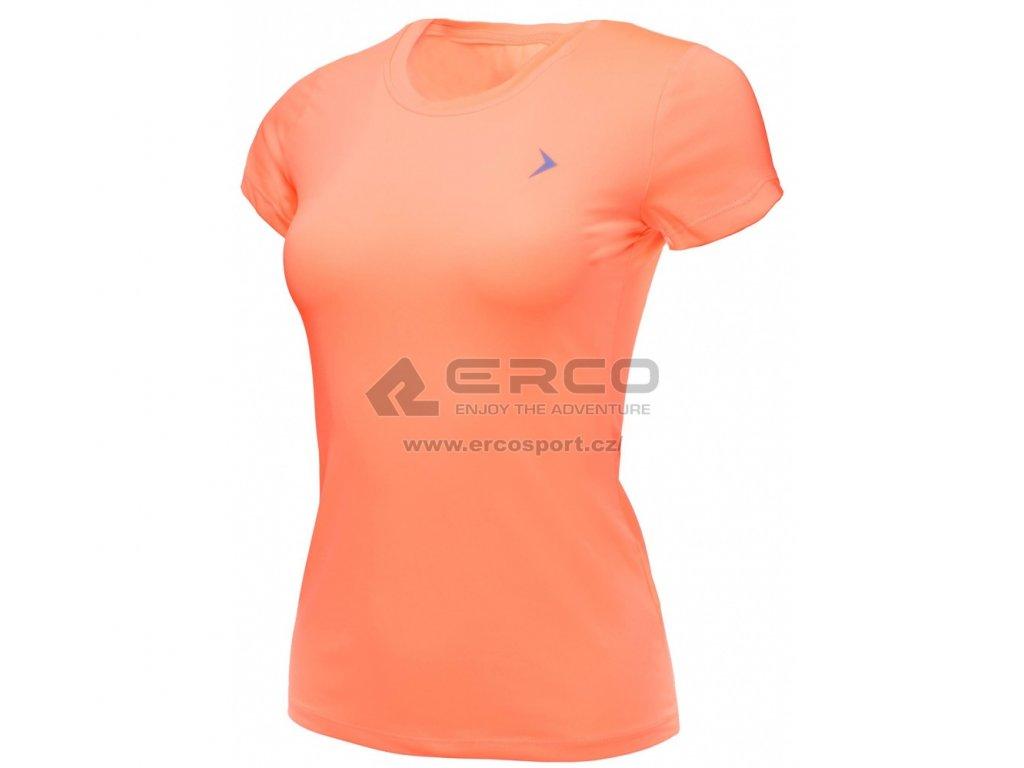 Dámské funkční tričko Outhorn TSDF600 Neon pink