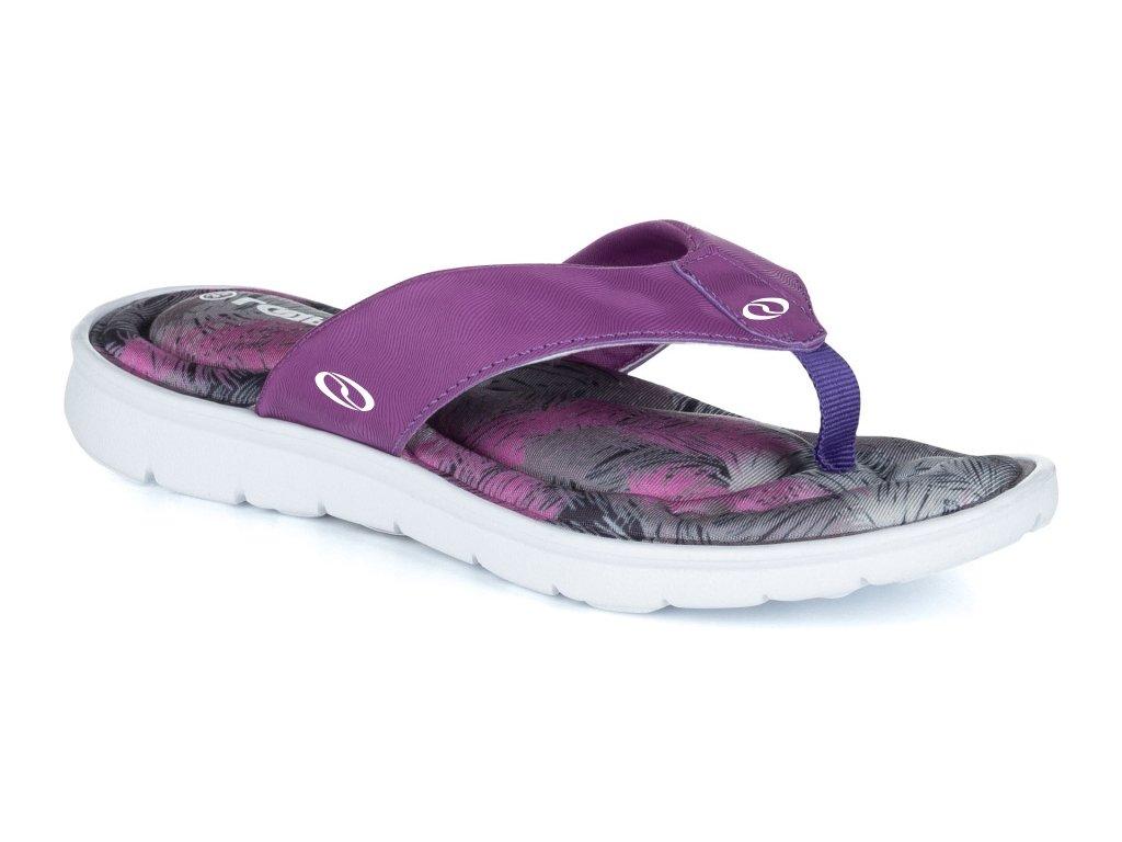Dámské pantofle Loap BENS K18A fialová