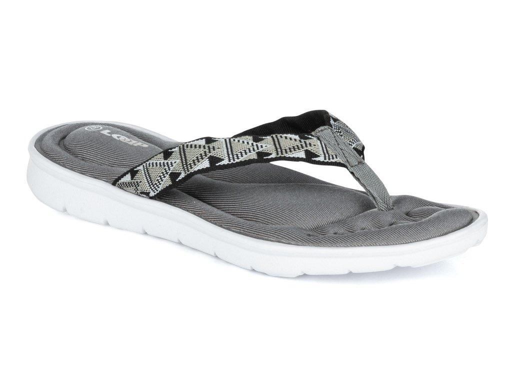 Dámské pantofle Loap PULIA T10A šedá