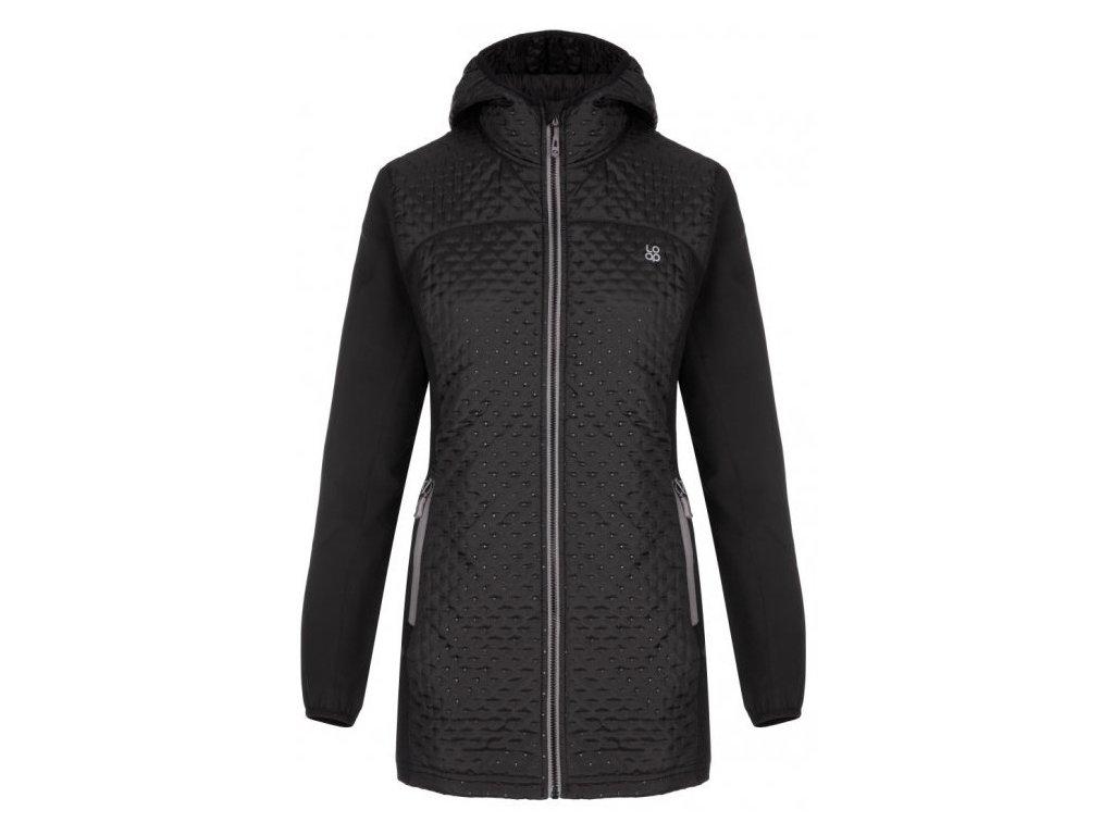 Dámský kabát Loap ULLY V21T černá