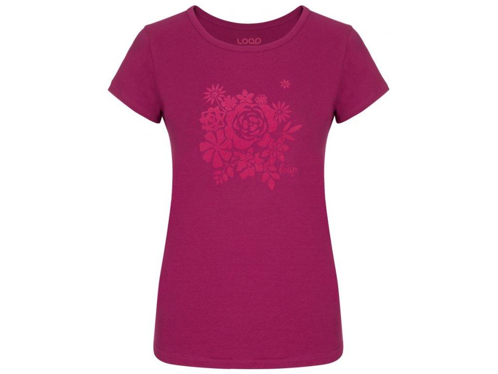Dámské tričko Loap ANICKA H20H růžová