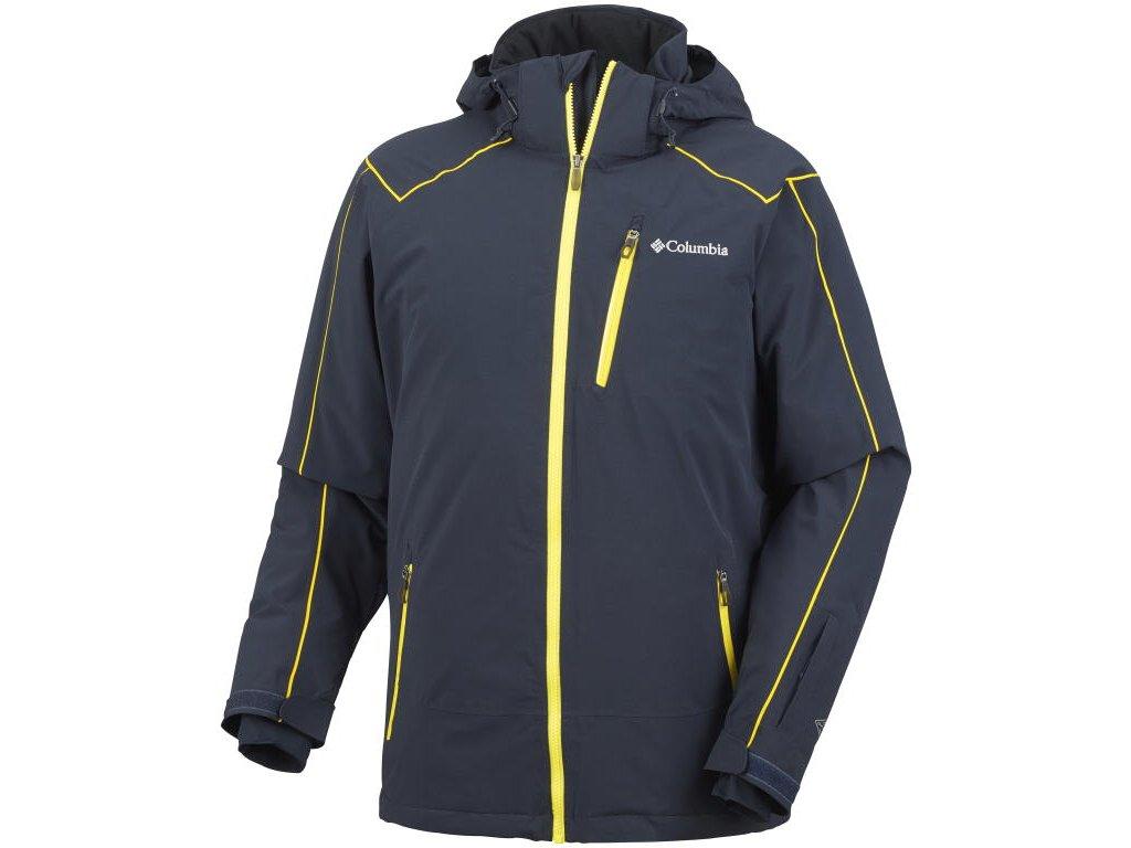 Pánská zimní bunda Columbia Millennium Burner Jacket AByss černá