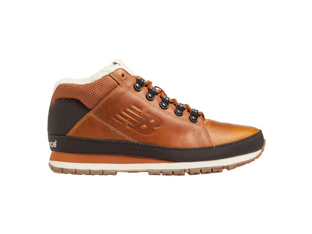 Pánské zimní boty New Balance H754 LFT hnědá