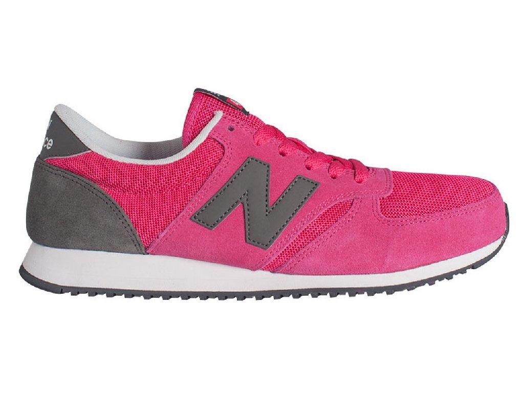 Univerzální lifestylové boty New Balance U420 šedo-růžová šedá