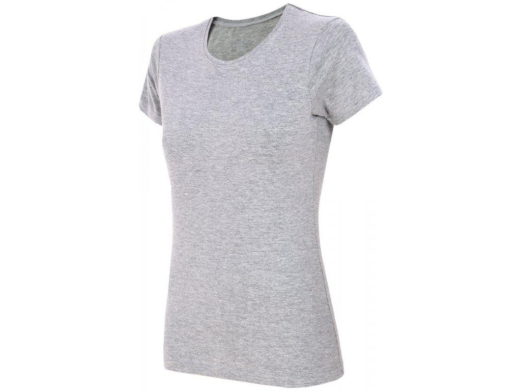 Dámské tričko Outhorn TSD600 šedá šedá
