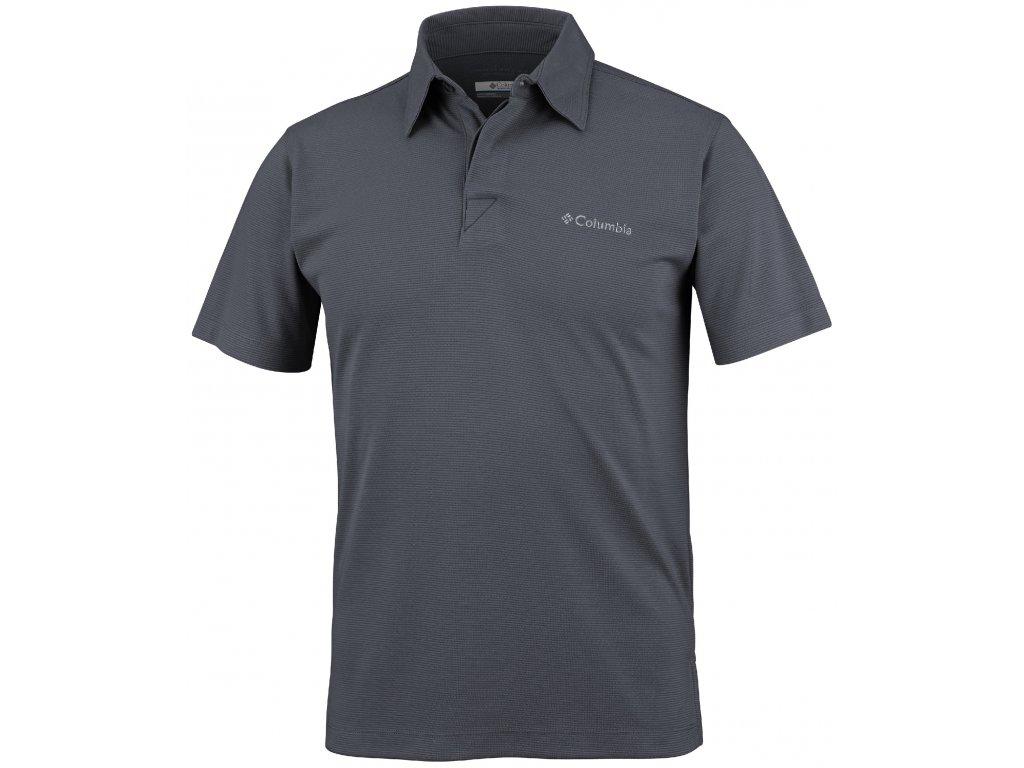 Pánské polo-tričko Columbia SUN RIDGE™ POLO hark šedá