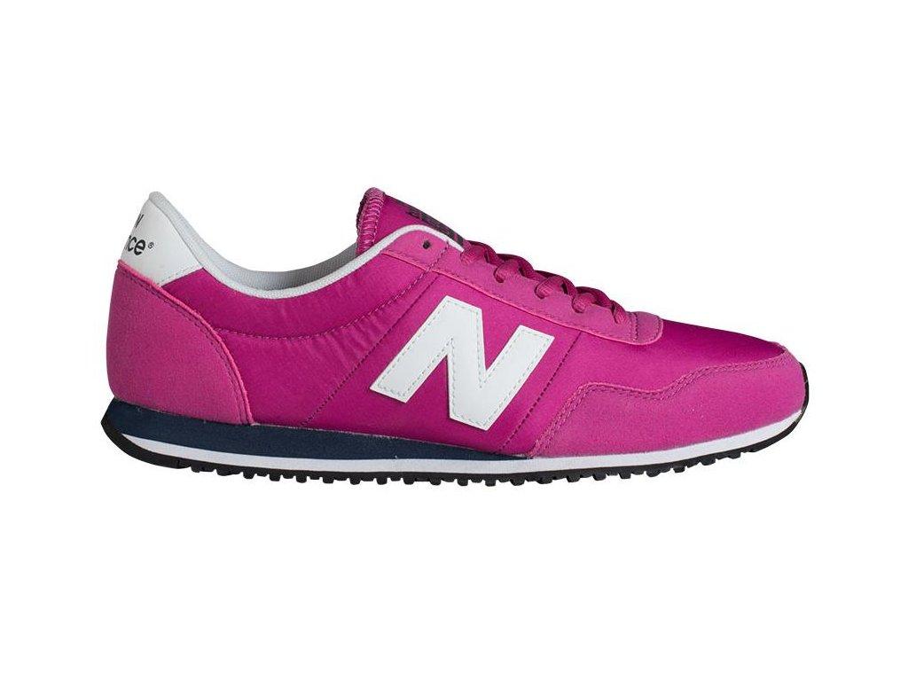 Univerzální lifestylové boty New Balance U395 růžová růžová