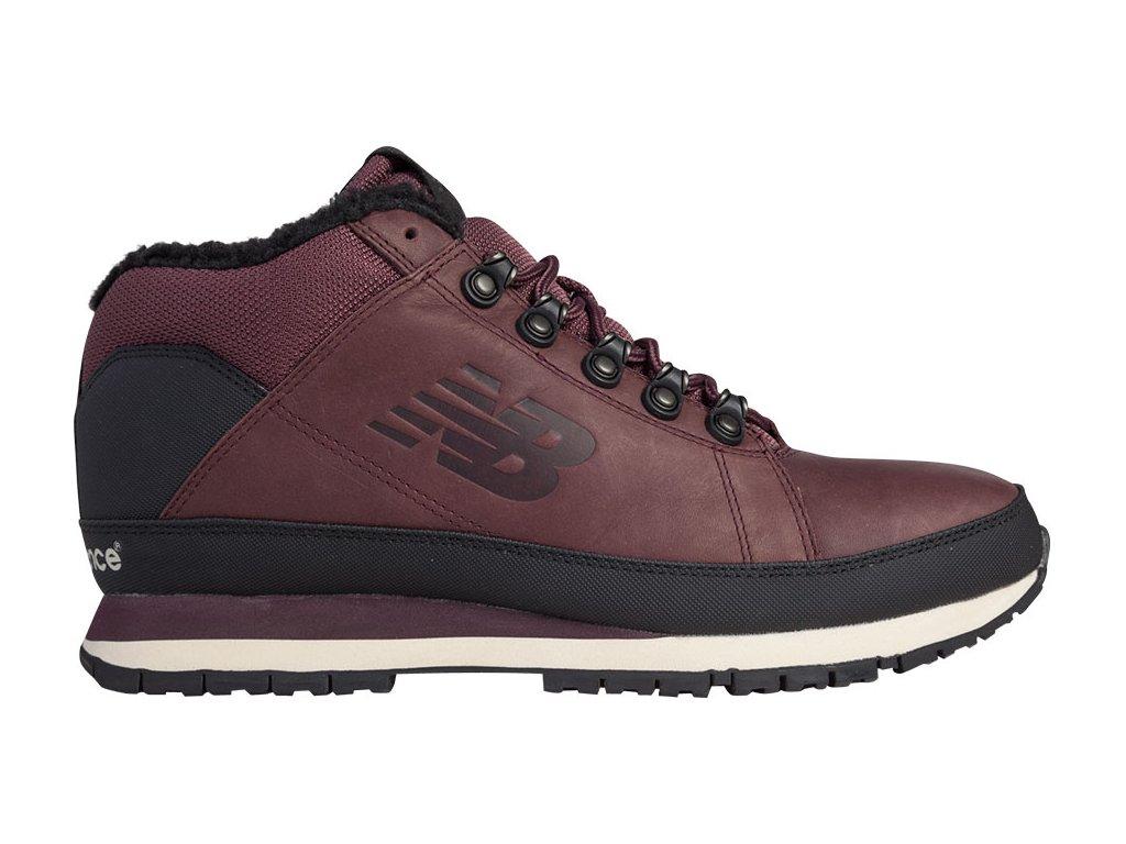Pánské zimní boty New Balance HL754 BB Vínová
