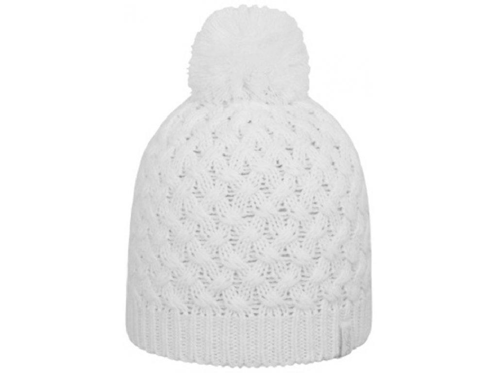 Dámská pletená čepice Outhorn CAD614 bílá