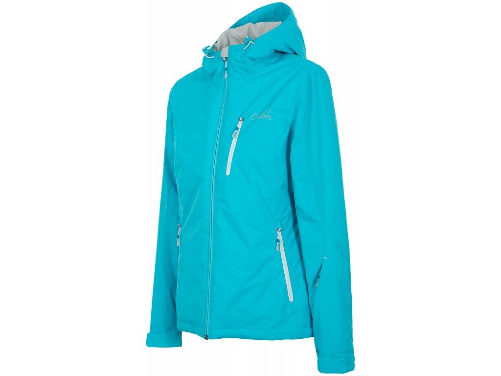 Dámská zimní bunda Outhorn KUDN601 tyrkysová modrá