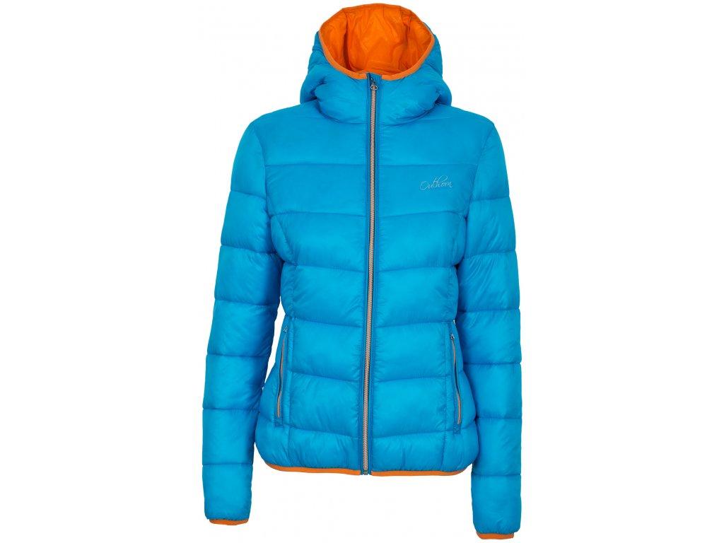 Dámská zimní bunda Outhorn KUD602A tyrkysová tyrkysová