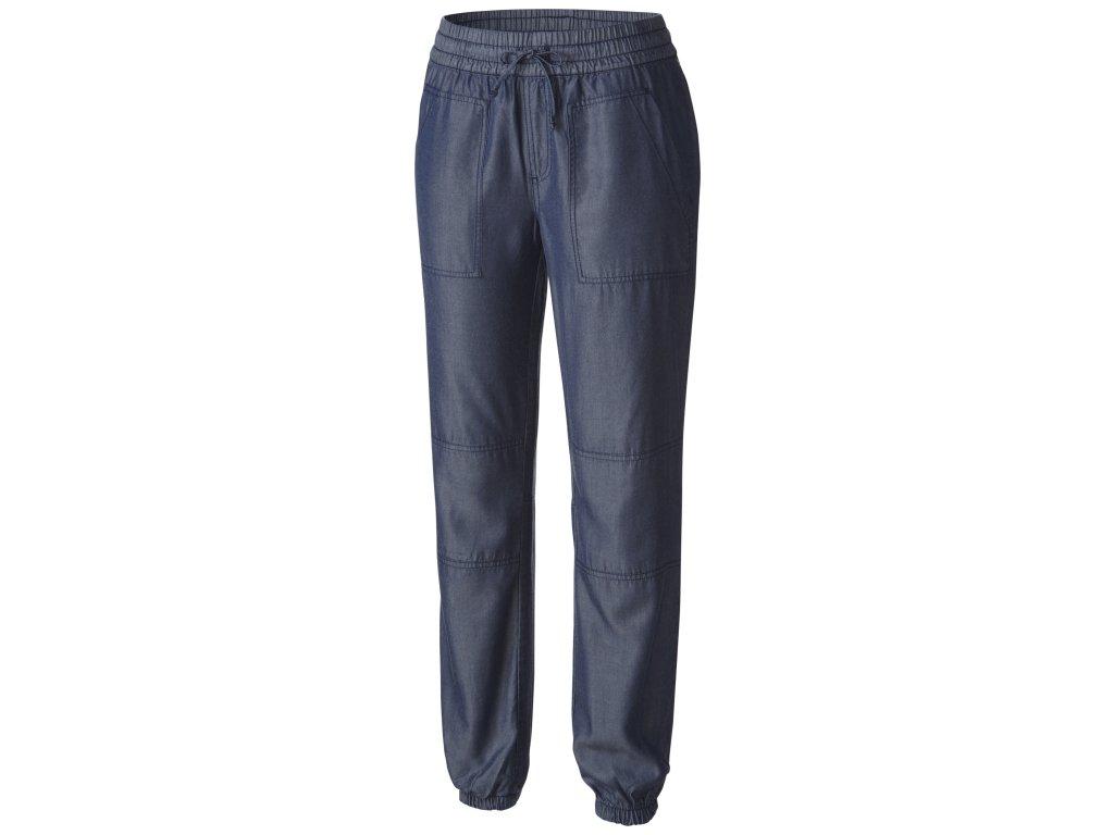 Dámské kalhoty Columbia Wayfarer ™ Tencel Pant 400 Dark indigo Modrá