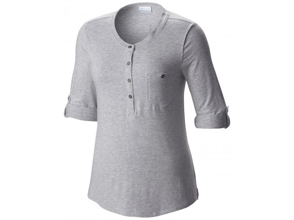 Dámské tričko Columbia PRING DRIFTER 031 Cirrus grey Šedá