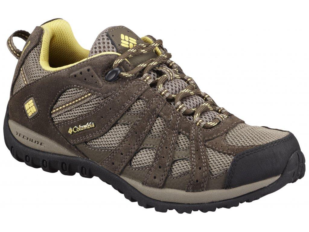 Dámské boty Columbia Redmond Waterproof 227 Pebble, Sunlit Hnědá