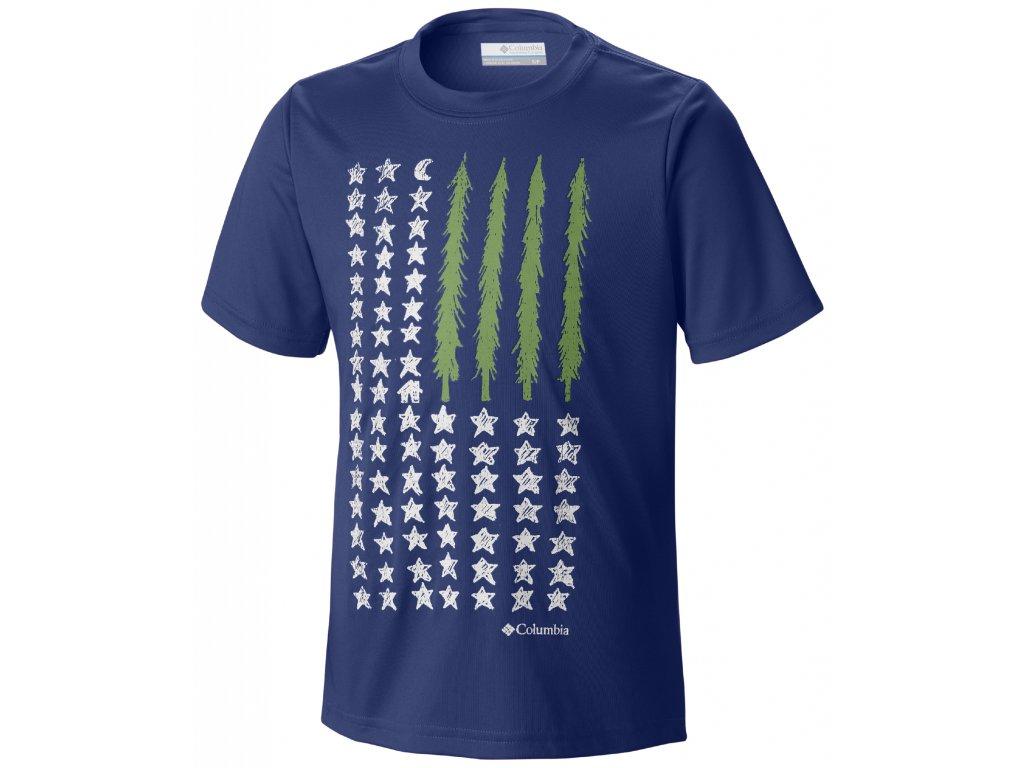 Chlapecké tričko Columbia Camp Americana 438 Super blue Modrá