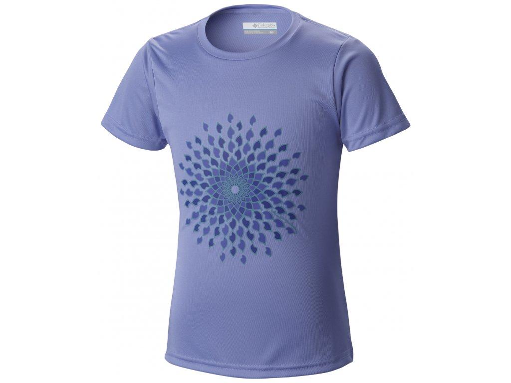 Dívčí tričko Columbia SUNNY BURST 548 Pale Purple Fialová