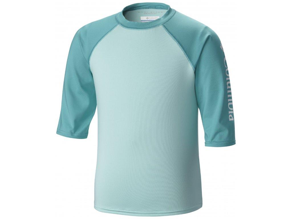 Dětské tričko Columbia INI BREAKER™ II 377 OCEAN WATER modrá